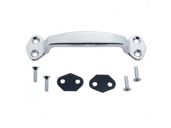 Chrome Grab Handle Kit w/Hardware & 2 Rubber Gaskets kit