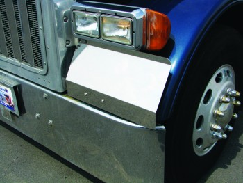 Peterbilt 379 Blank Fender Guard