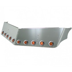 "14"" Peterbilt 379 Ultra Cab Sunvisor with 8 x 2"" LED's & Bezels on Bottom (1997-2004)"