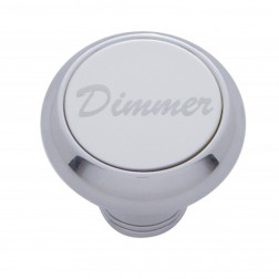 """Dimmer"" Deluxe Dash Knob-SS Plaque"