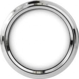 "2 1/2"" Chrome Plastic Twist On Bezel"