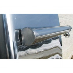 "Stainless Steel 24"" Economy Quarter Fender Post Mount Kit"