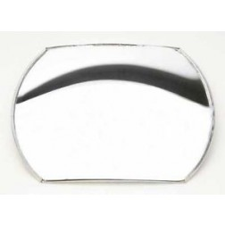 "Stick On Convex Spot Mirror - 4x5 1/2"" Rectangular"