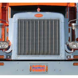 PB 379 Extended Hood Grill w/Horizontal Oval Holes