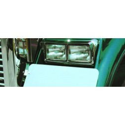 Freightliner Classic Single Headlight Visor