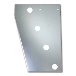 "Peterbilt 379 Cowl Panel with 8 x 2"" Light Holes"